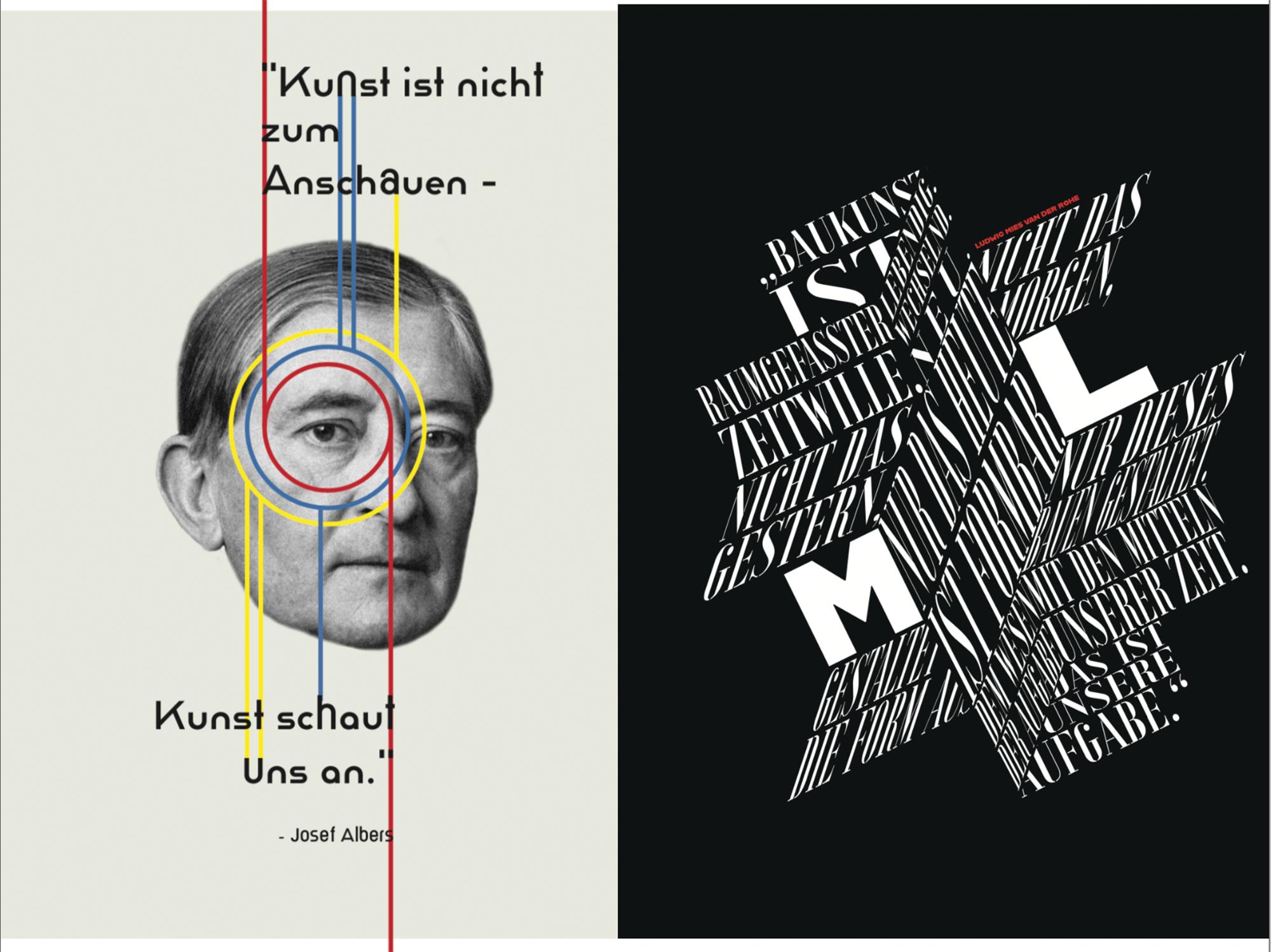 Die beiden Plakate von den Künstlern Anna Fröse und Lukas Bürgelt. Ausgedruckt können sie mithilfe der App Artivive mit dem Smartphone scannt werden.